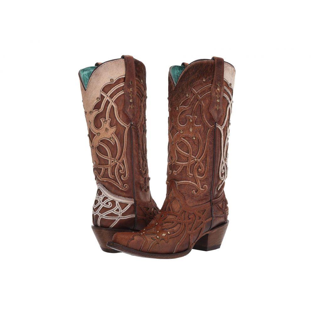 コラル Corral Boots レディース ブーツ シューズ・靴【C3564】Brown