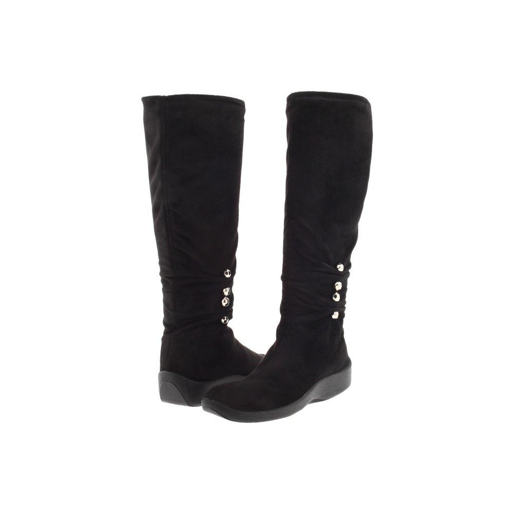 アルコペディコ Arcopedico レディース ブーツ シューズ・靴【Liana】Black Faux Suede