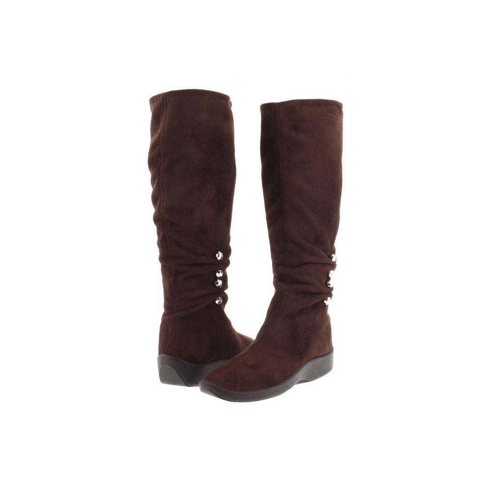 アルコペディコ Arcopedico レディース ブーツ シューズ・靴【Liana】Brown Faux Suede