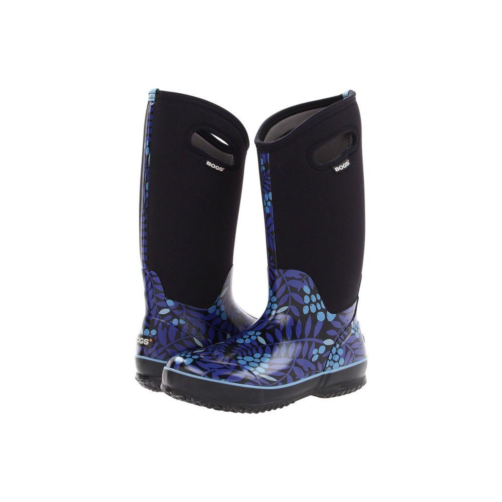 ボグス Bogs レディース ブーツ シューズ・靴【Classic Tall】Blue Multi Winterberry