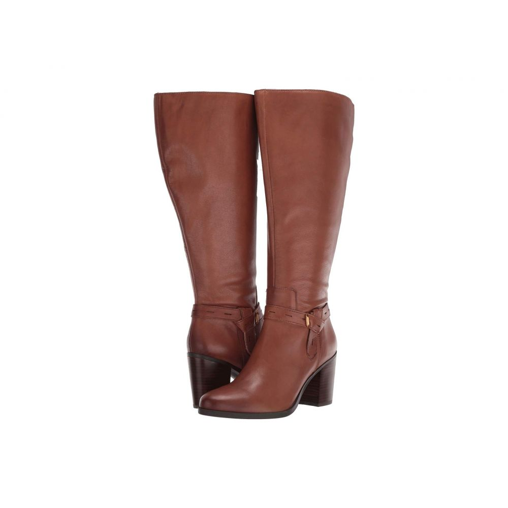 ナチュラライザー Naturalizer レディース ブーツ シューズ・靴【Kamora Wide Calf】Saddle Tan Leather WC