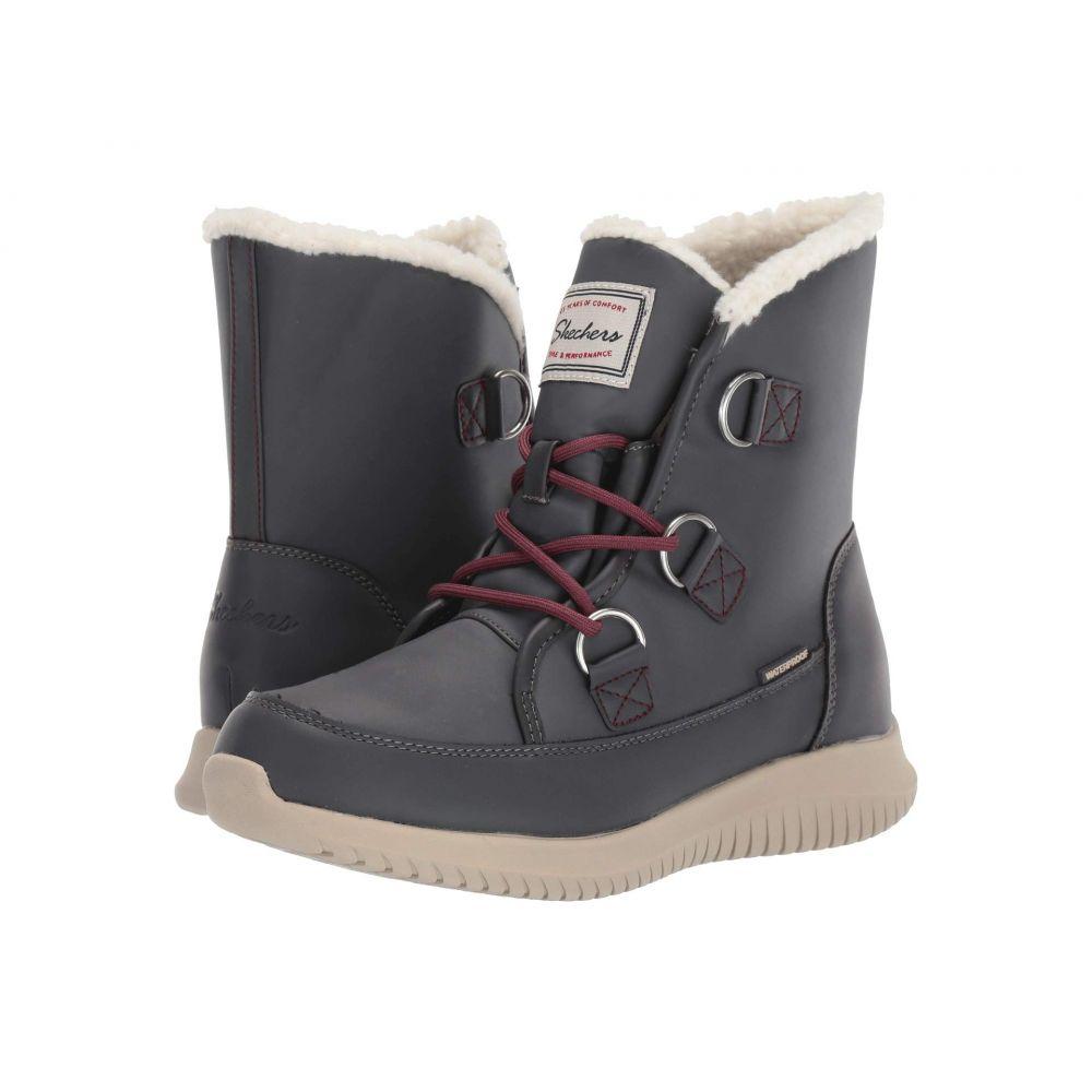スケッチャーズ SKECHERS レディース ブーツ シューズ・靴【Ultra Flex】Charcoal