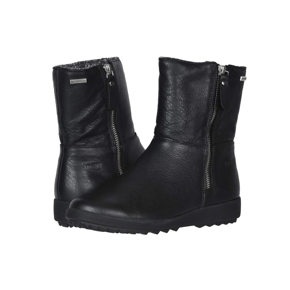 クーガー Cougar レディース ブーツ シューズ・靴【Vito Waterproof】Black Toledo Leather