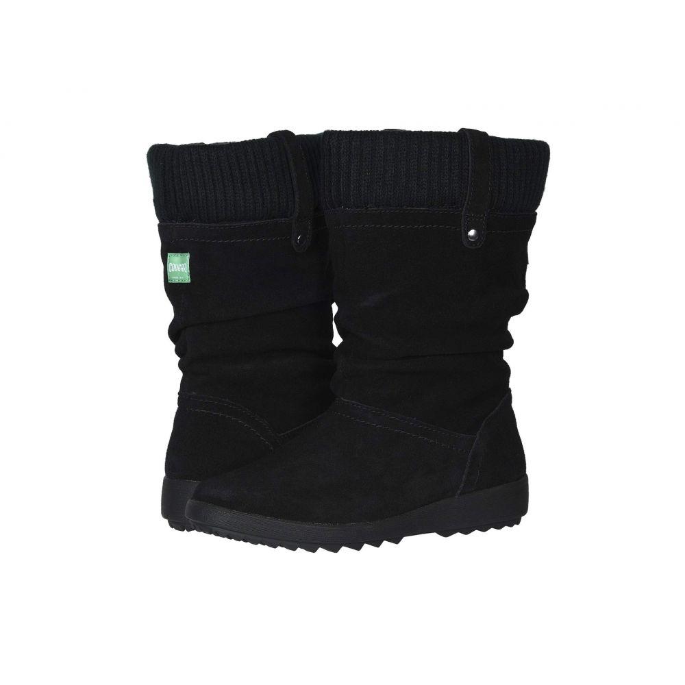クーガー Cougar レディース ブーツ シューズ・靴【Vienna Waterproof】Black Suede