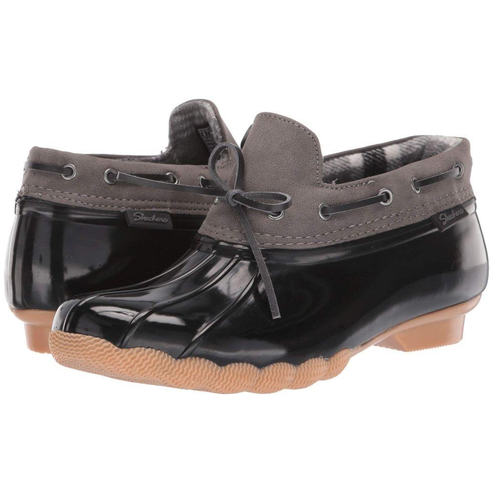 スケッチャーズ SKECHERS レディース ブーツ シューズ・靴【Pond - Posy One】Black/Charcoal