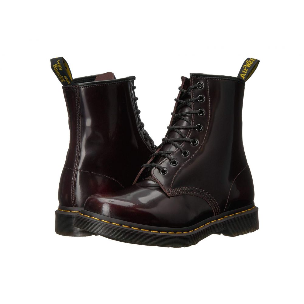 ドクターマーチン Dr. Martens レディース ブーツ シューズ・靴【1460 W】Cherry Red Arcadia Leather
