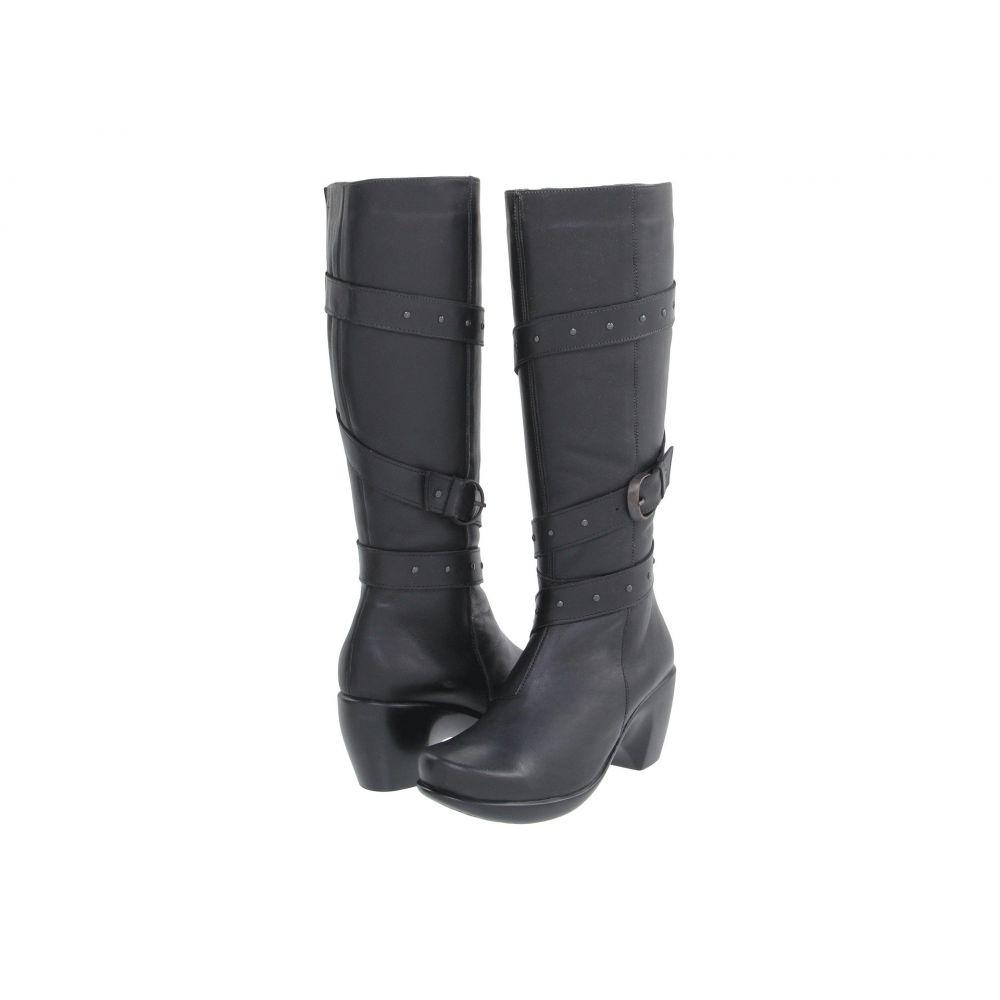ナオト Naot レディース ブーツ シューズ・靴【Allure】Jet Black Leather