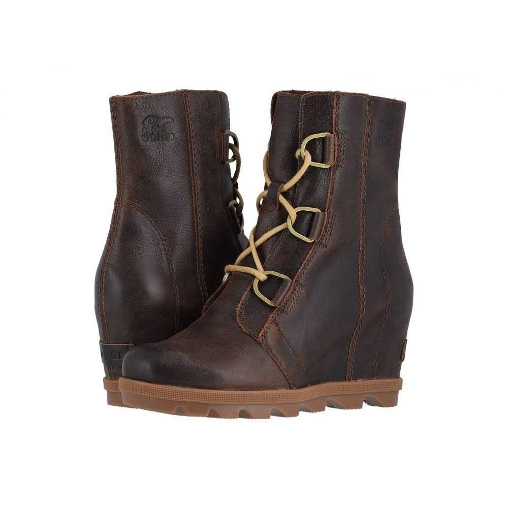 ソレル SOREL レディース ブーツ ウェッジソール シューズ・靴【Joan of Arctic(TM) Wedge II】Burro