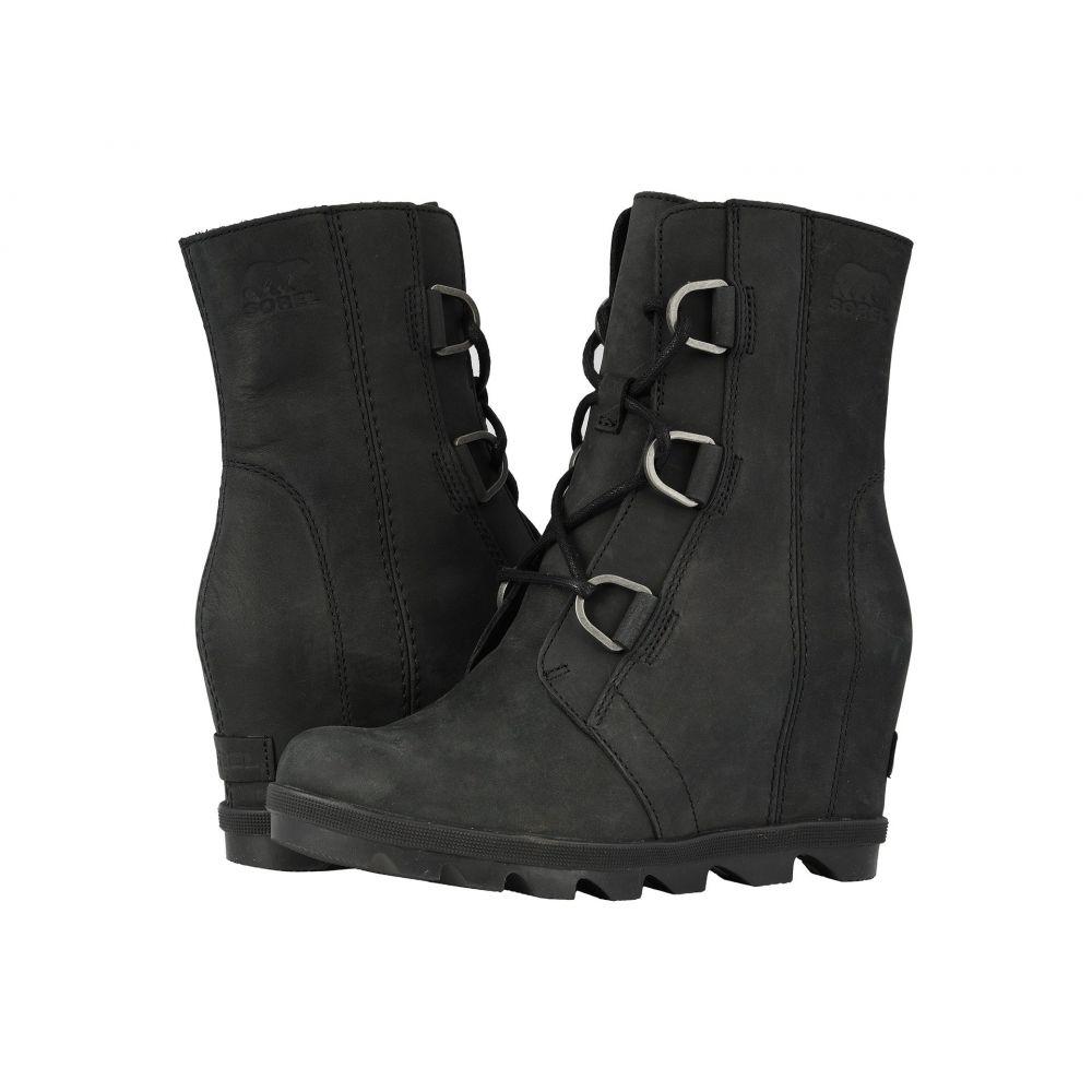 ソレル SOREL レディース ブーツ ウェッジソール シューズ・靴【Joan of Arctic(TM) Wedge II】Black