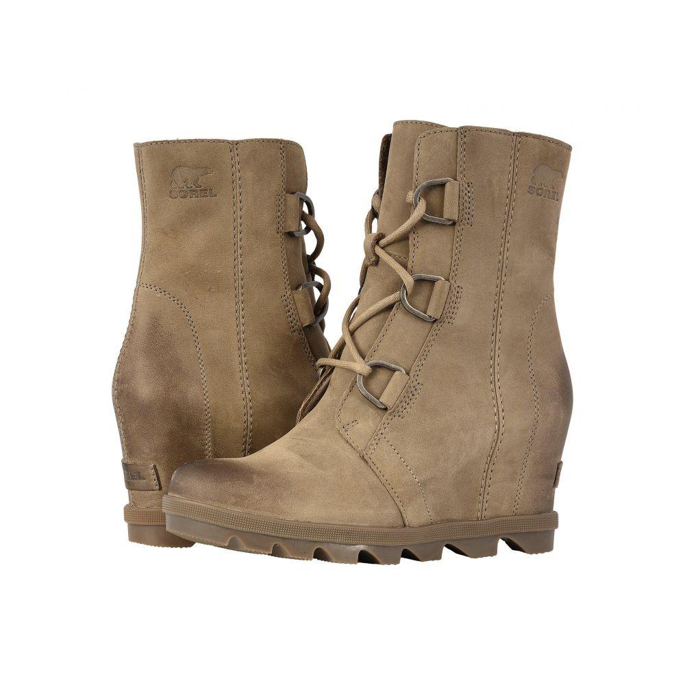 ソレル SOREL レディース ブーツ ウェッジソール シューズ・靴【Joan of Arctic(TM) Wedge II】Ash Brown