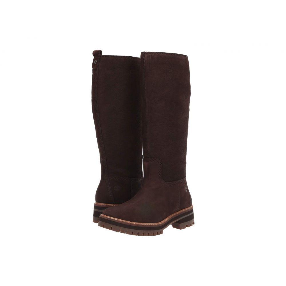ティンバーランド Timberland レディース ブーツ シューズ・靴【Courmayeur Valley Tall Boot】Dark Brown Nubuck