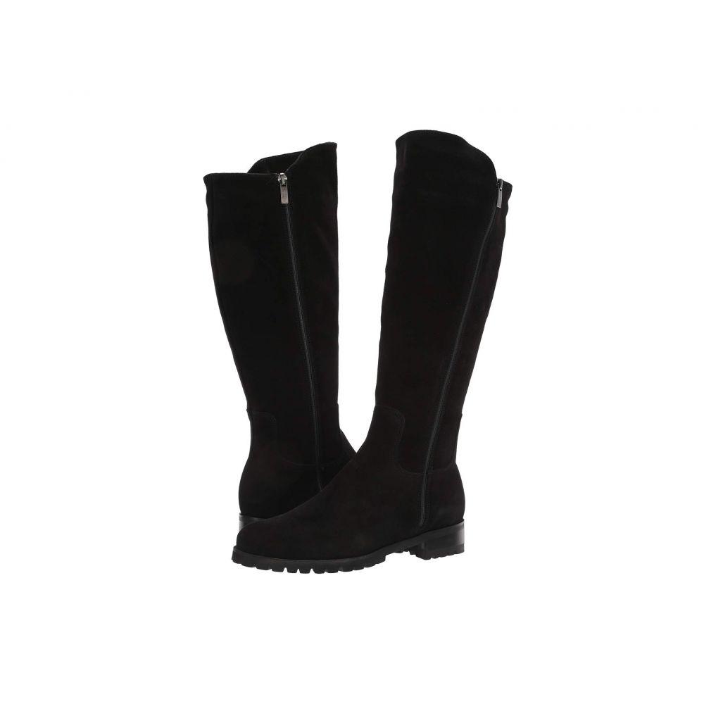ラ カナディアン La Canadienne レディース ブーツ シューズ・靴【Susan】Black Suede