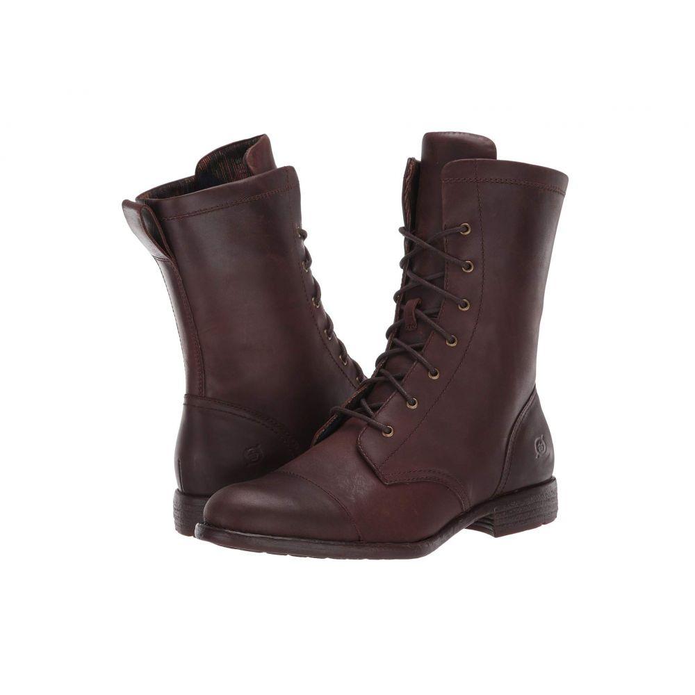 ボーン Born レディース ブーツ シューズ・靴【Neon】Dark Brown Full Grain Leather