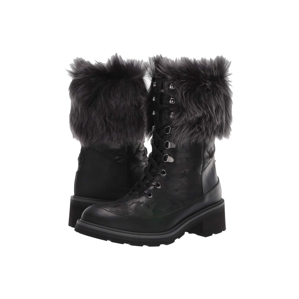 ロス & スノー Ross & Snow レディース ブーツ シューズ・靴【Chiara Waterproof Boot】Black Camo