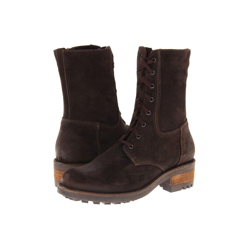 ラ カナディアン La Canadienne レディース ブーツ シューズ・靴【Carolina】Brown Oiled Suede