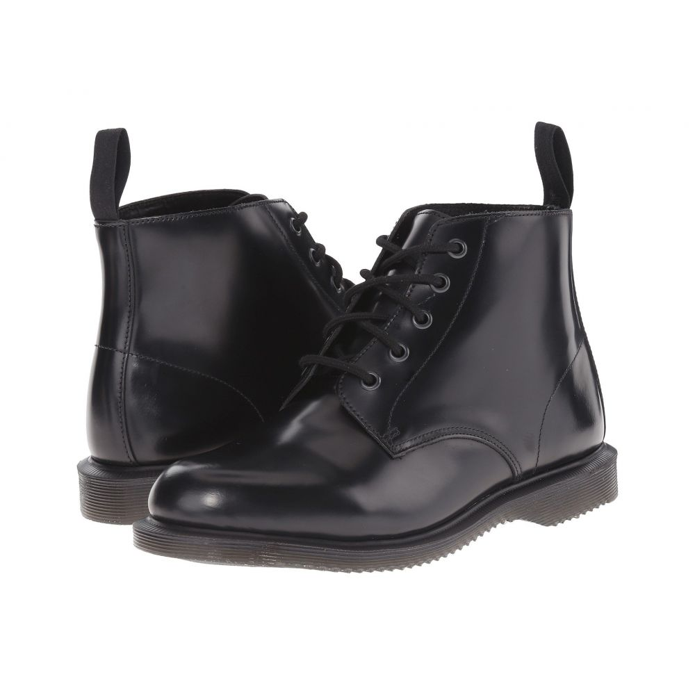 ドクターマーチン Dr. Martens レディース ブーツ シューズ・靴【Emmeline】Black Polished Smooth
