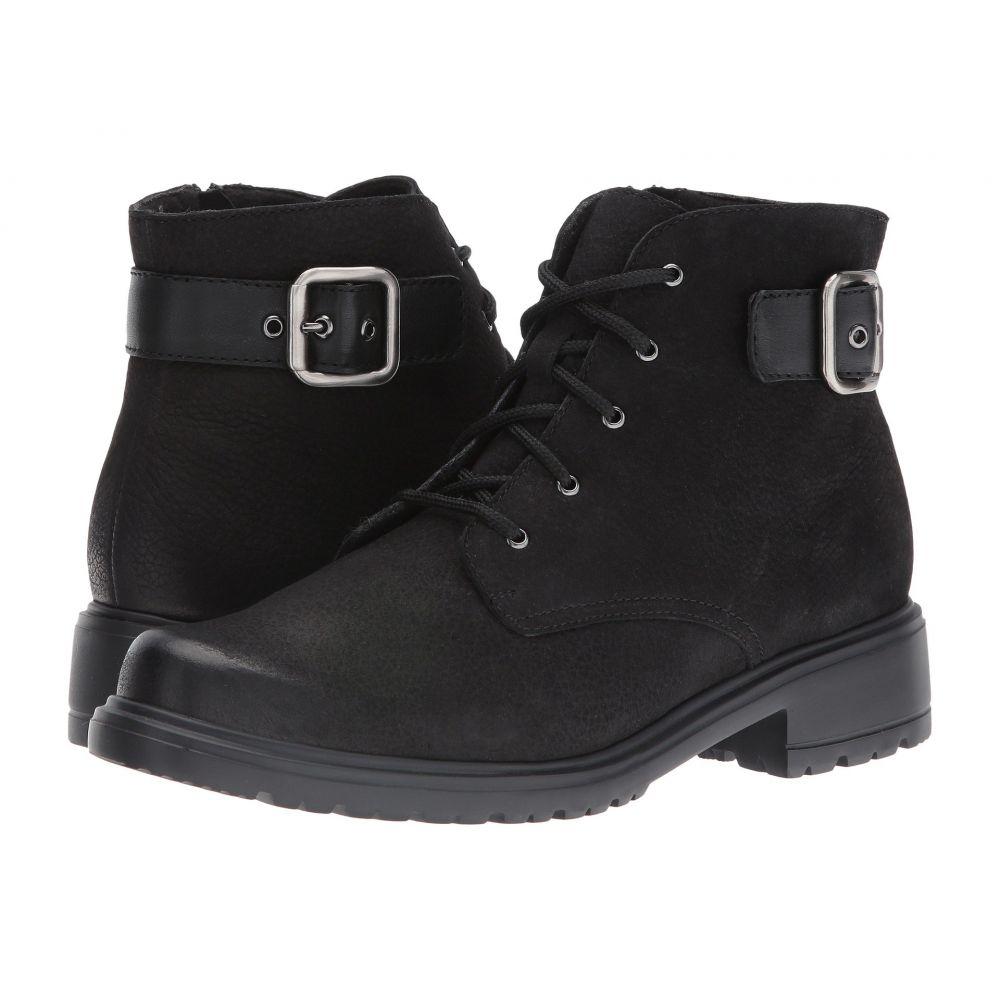 マンロー Munro レディース ブーツ シューズ・靴【Bradley】Black Tumbled Nubuck