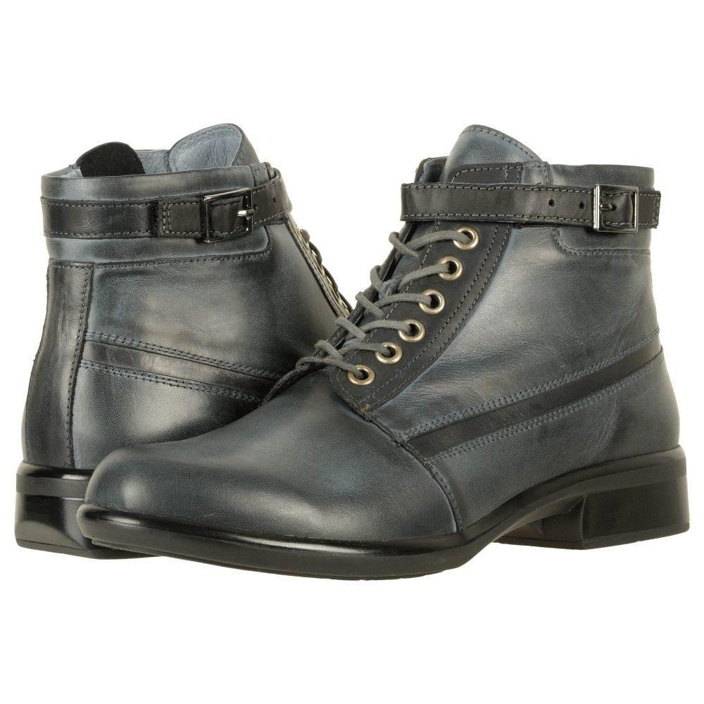 ナオト Naot レディース ブーツ シューズ・靴【Kona】Vintage Ash Leather/Black Combo