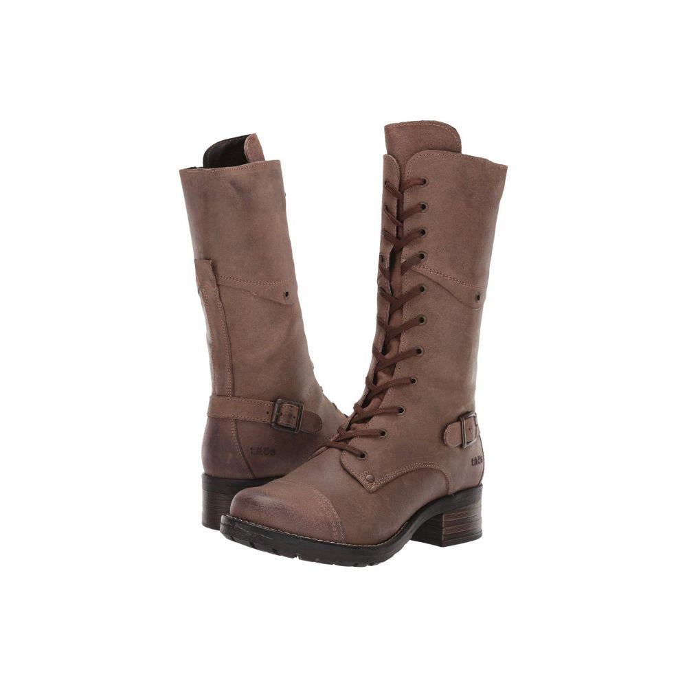 タオス Taos Footwear レディース ブーツ シューズ・靴【Tall Crave】Taupe Rugged