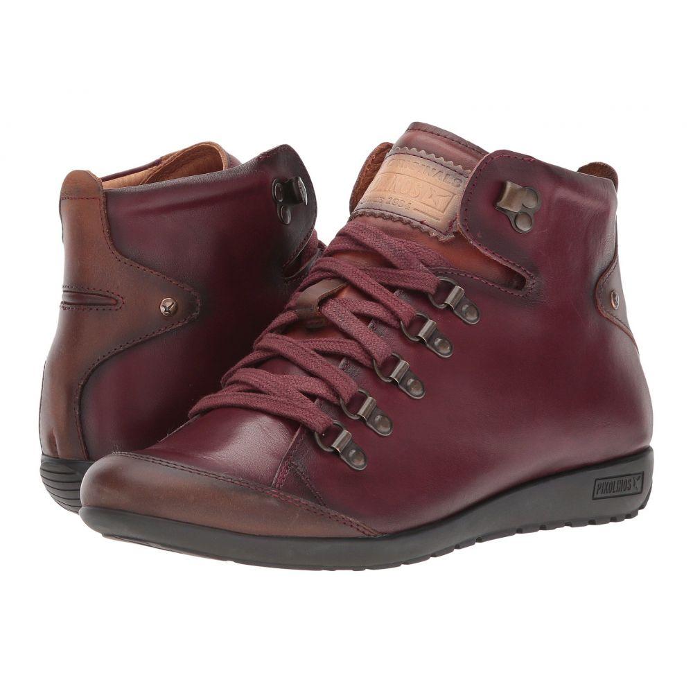 ピコリノス Pikolinos レディース ブーツ シューズ・靴【Lisboa W67-7667C5】Garnet