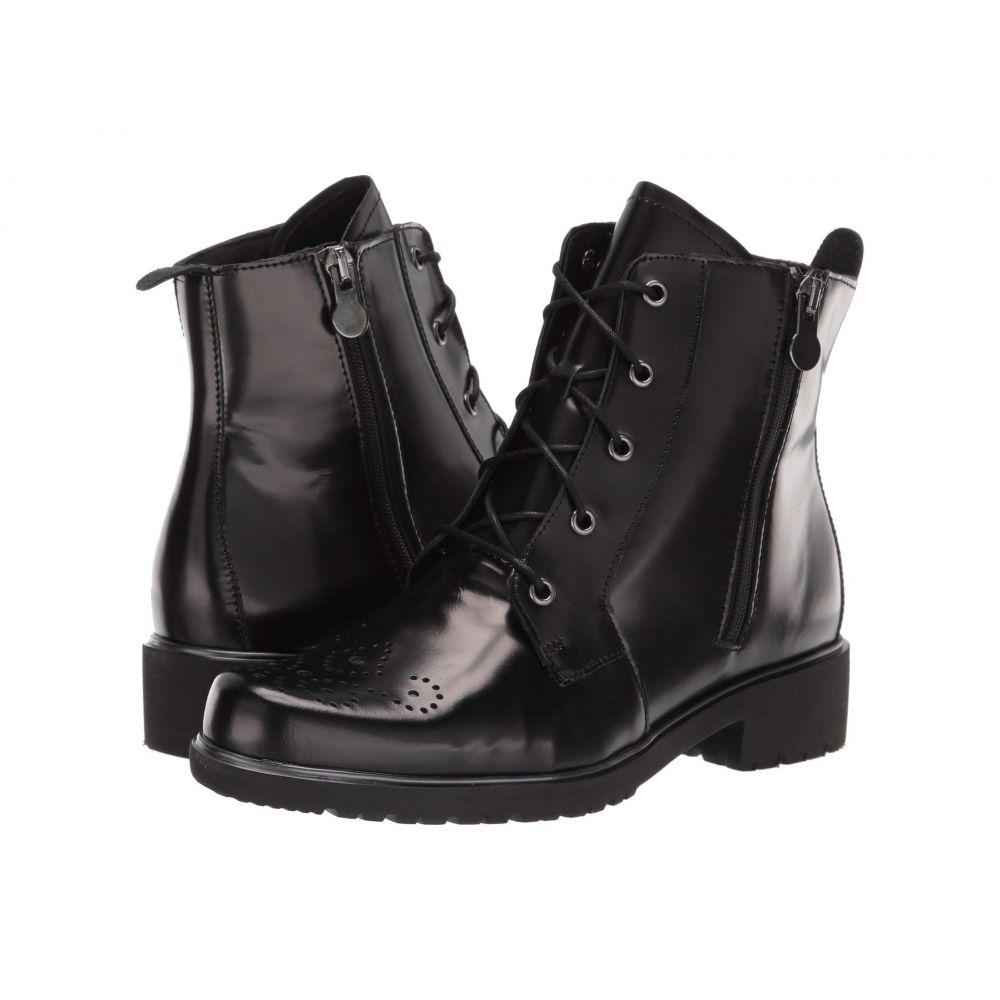 マンロー Munro レディース ブーツ シューズ・靴【Sarah】Black Leather