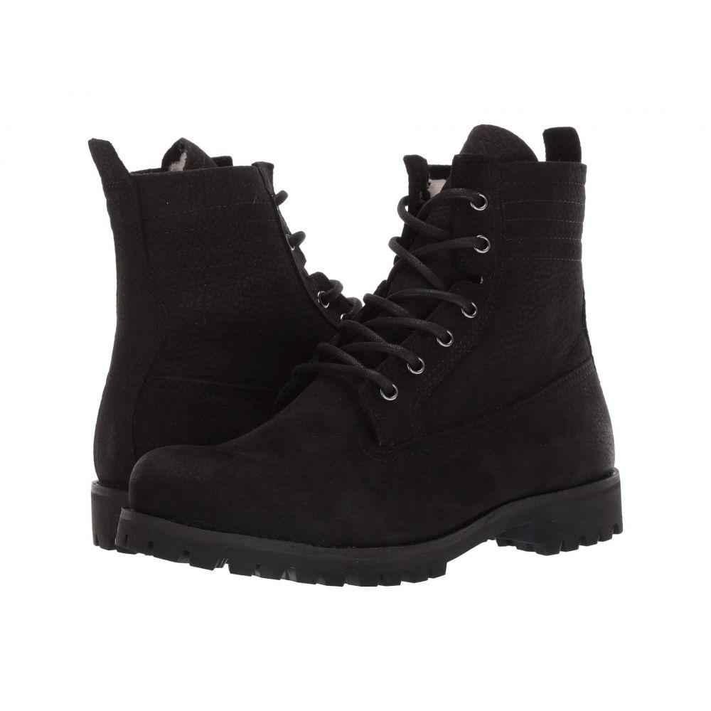 ブラックストーン Blackstone レディース ブーツ レースアップ シューズ・靴【Lace-Up Sheepskin Boot - OL22】Black