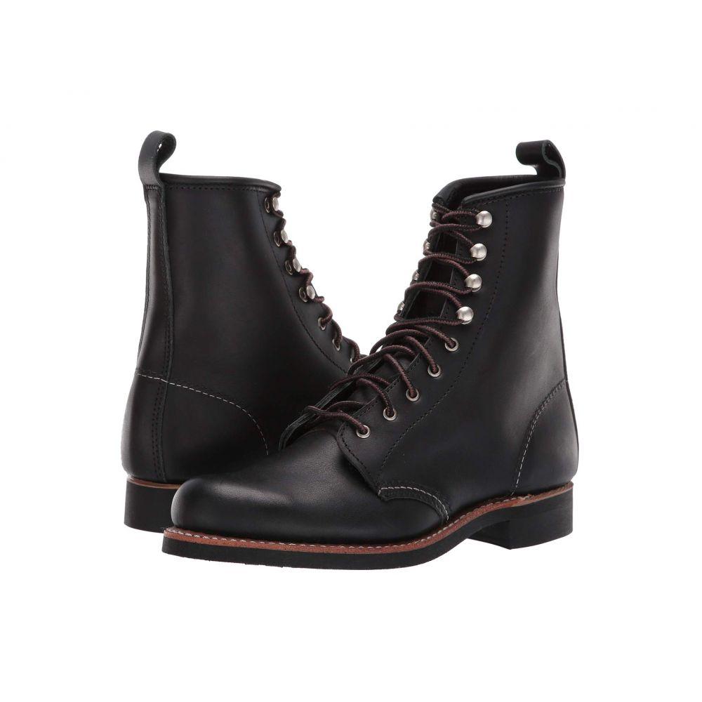 レッドウィング Red Wing Heritage レディース ブーツ シューズ・靴【Silversmith】Black Boundary
