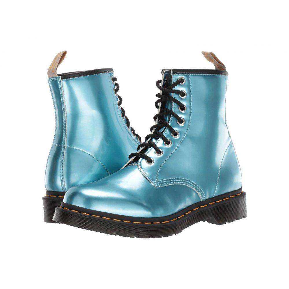 ドクターマーチン Dr. Martens レディース ブーツ シューズ・靴【1460 Vegan】Blue/Gold Mix