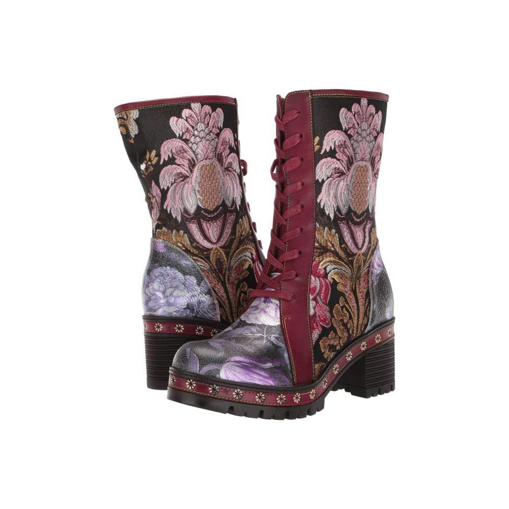 スプリングステップ L'Artiste by Spring Step レディース ブーツ シューズ・靴【Dannie】Bordeaux Multi