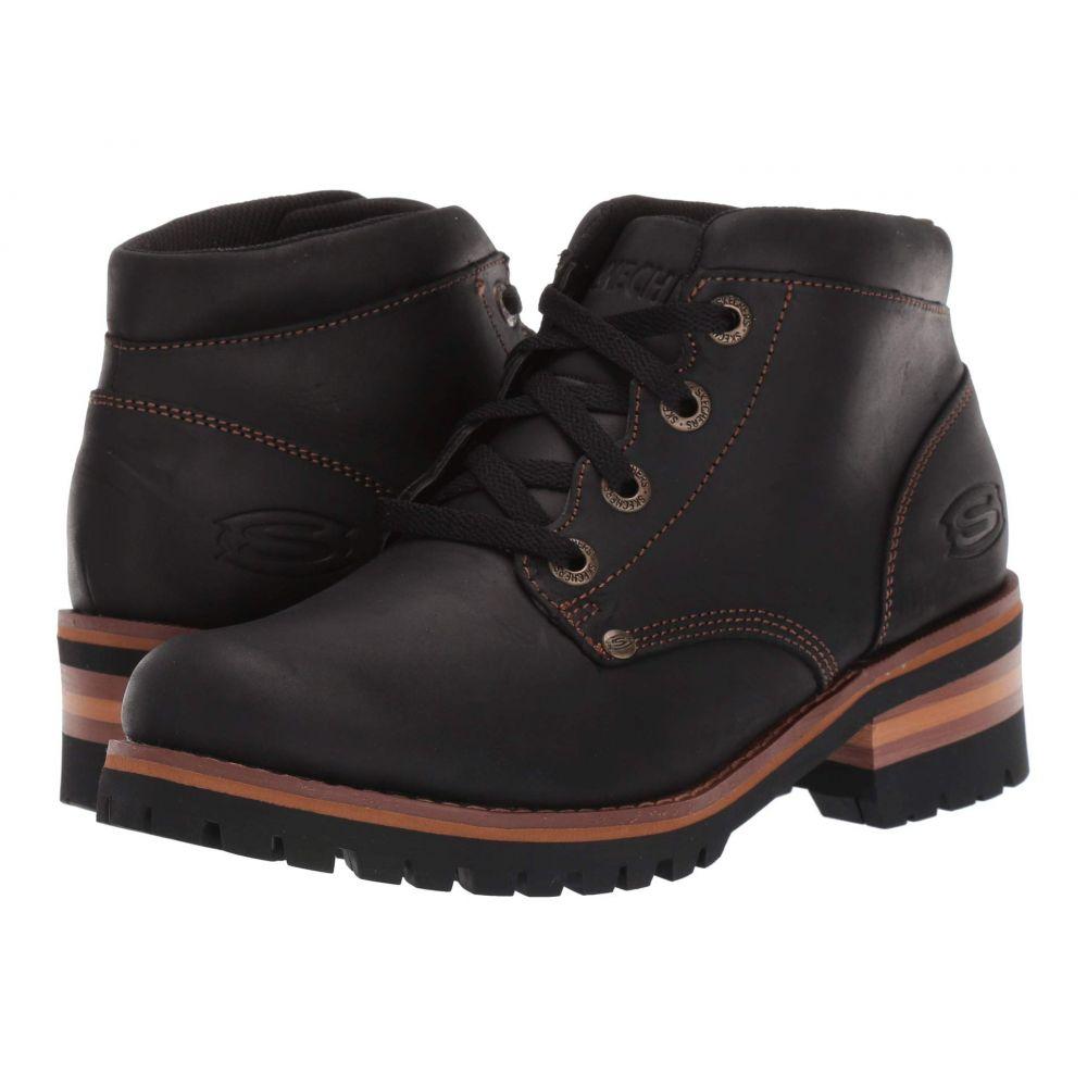 スケッチャーズ SKECHERS レディース ブーツ シューズ・靴【Laramie 2】Black