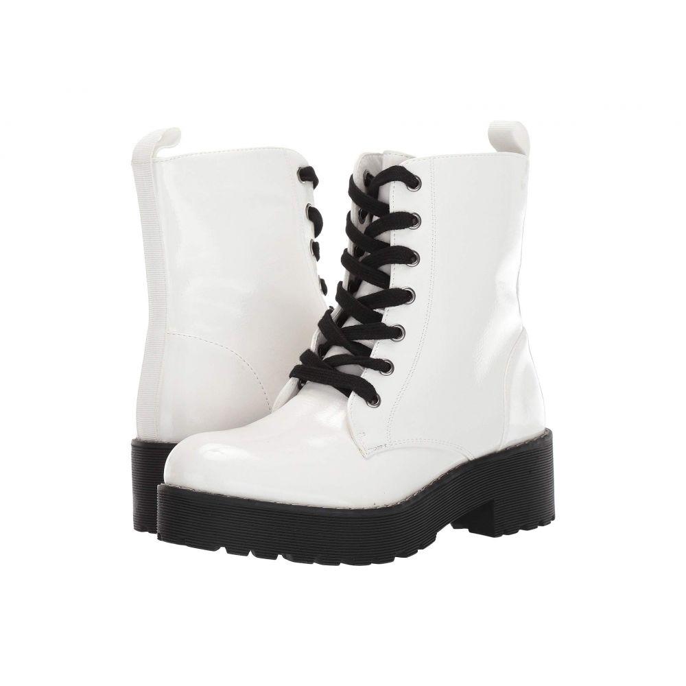 ダーティーランドリー Dirty Laundry レディース ブーツ シューズ・靴【Mazzy】White Patent