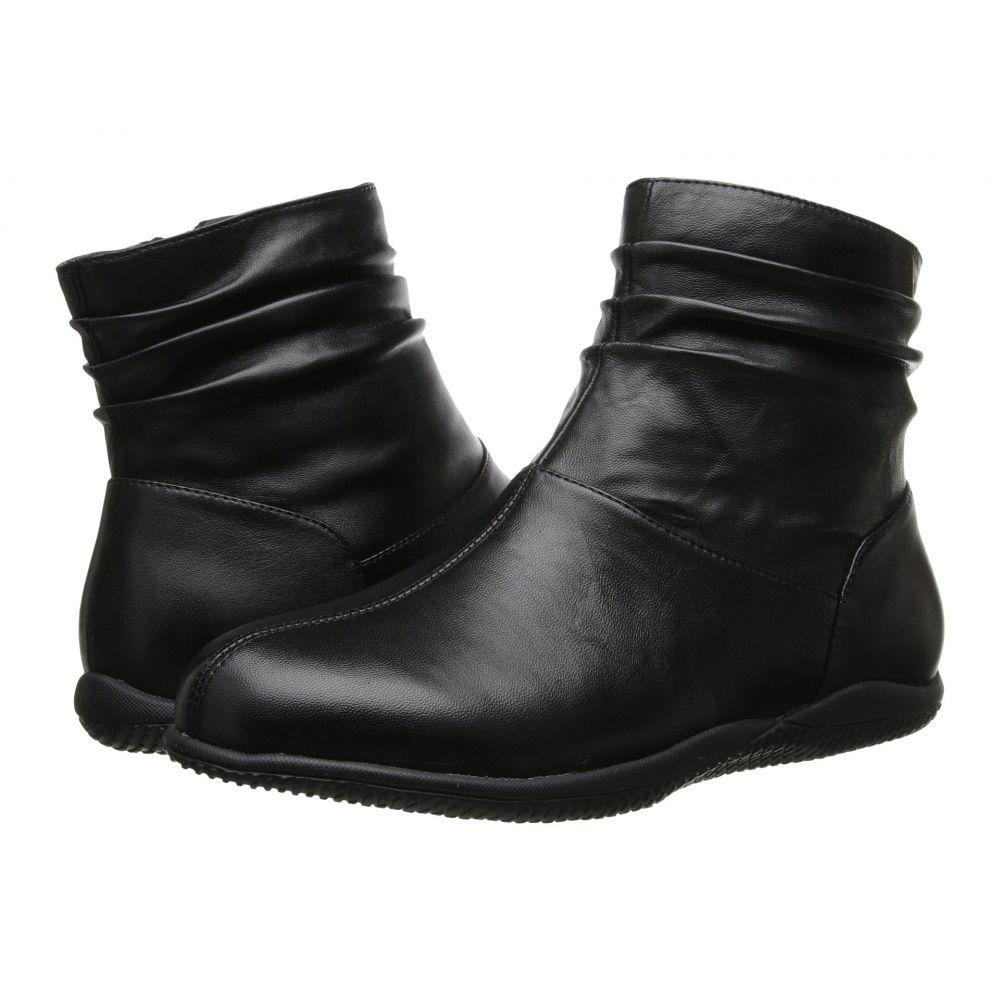ソフトウォーク SoftWalk レディース ブーツ シューズ・靴【Hanover】Black Soft Nappa Leather