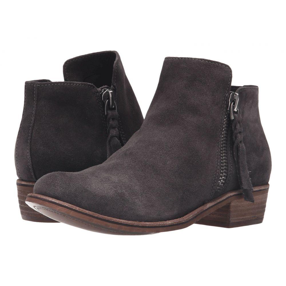 ドルチェヴィータ Dolce Vita レディース ブーツ シューズ・靴【Sutton】Anthracite Suede