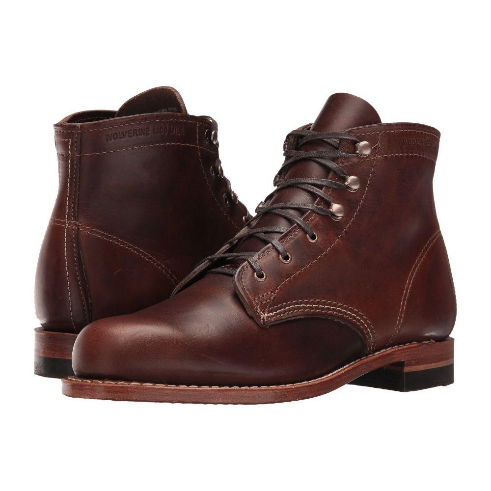 ウルヴァリン ヘリテージ Wolverine Heritage レディース ブーツ シューズ・靴【Original 1000 Mile Boot】Brown