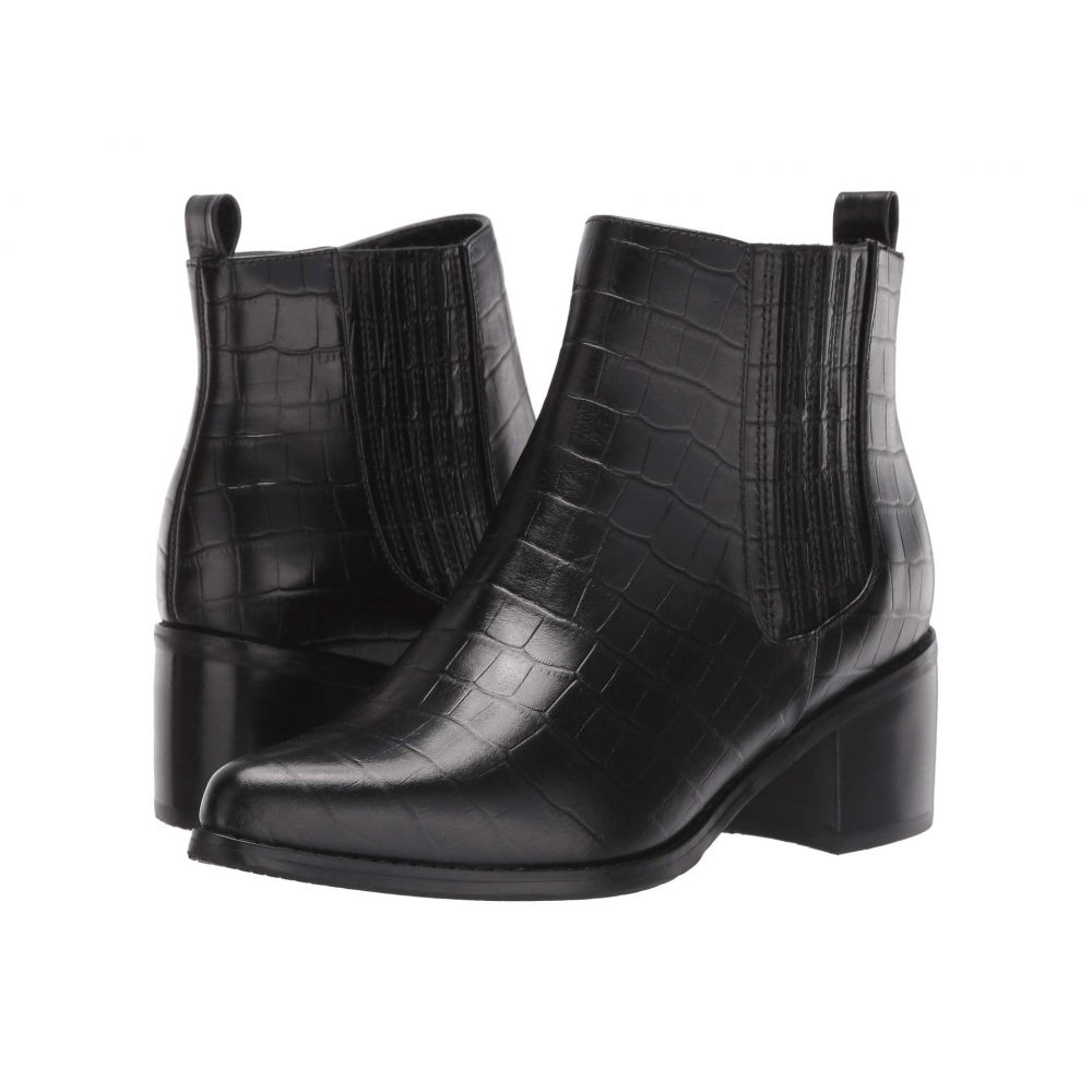 ブロンド Blondo レディース ブーツ シューズ・靴【Elvina Waterproof Bootie】Black Croco