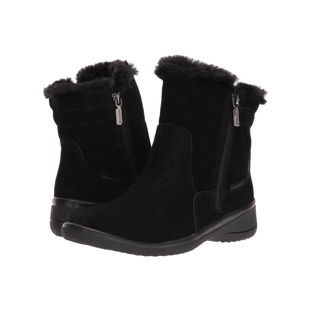 ブロンド Blondo レディース ブーツ シューズ・靴【Silas Waterproof】Black Suede