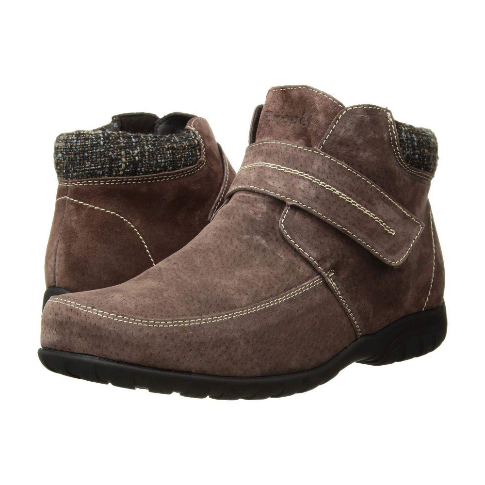 プロペット Propet レディース ブーツ シューズ・靴【Delaney Strap】Brown