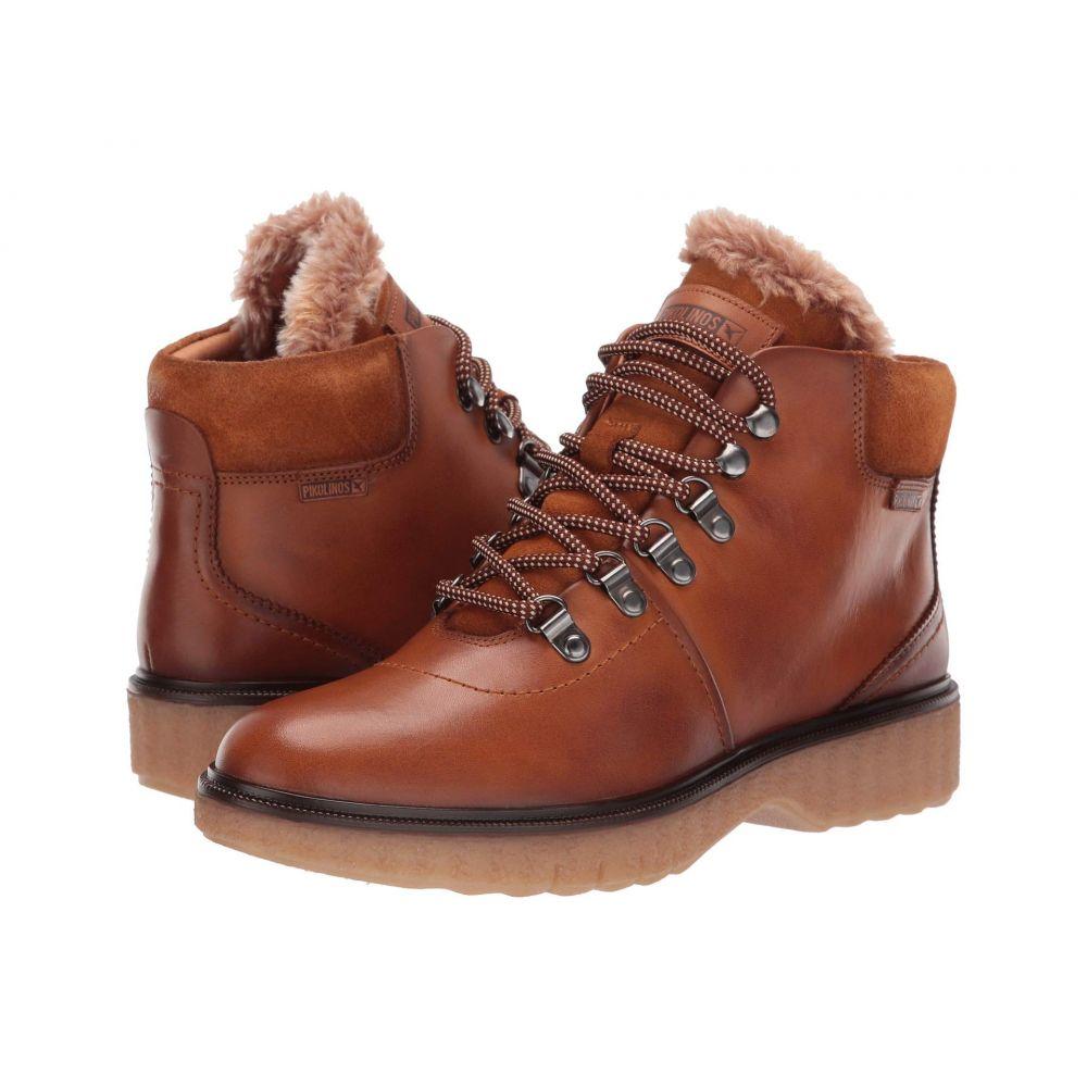 ピコリノス Pikolinos レディース ブーツ シューズ・靴【Bruselas W0U-8659】Brandy Tan