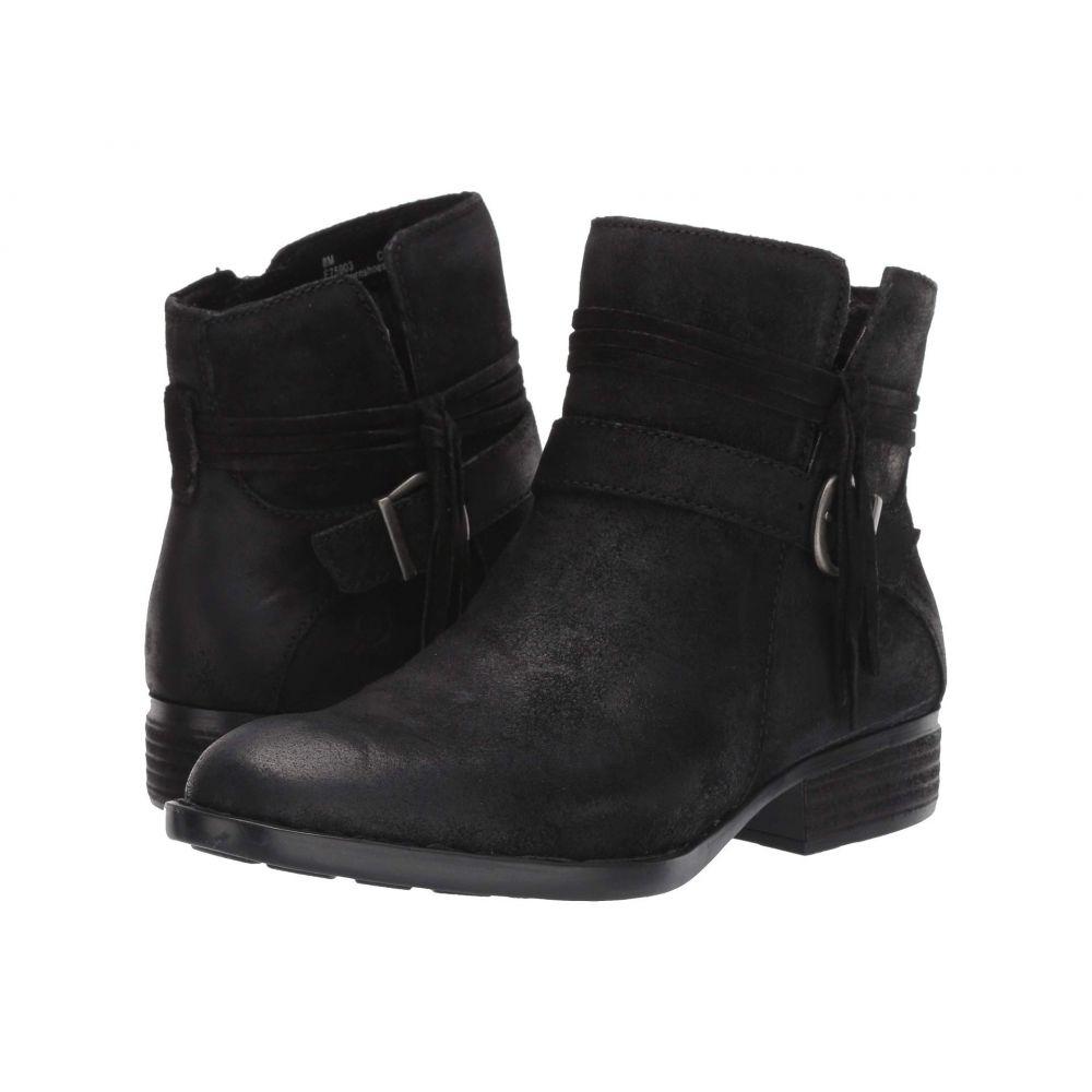ボーン Born レディース ブーツ シューズ・靴【Osha】Black Distressed
