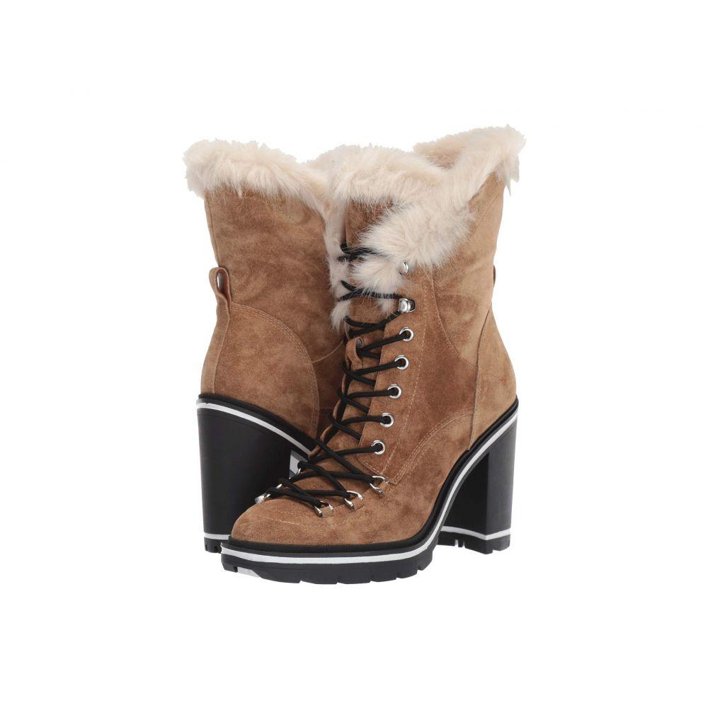 シガーソン モリソン Sigerson Morrison レディース ブーツ シューズ・靴【Odelia】Light Natural Suede/Faux Fur