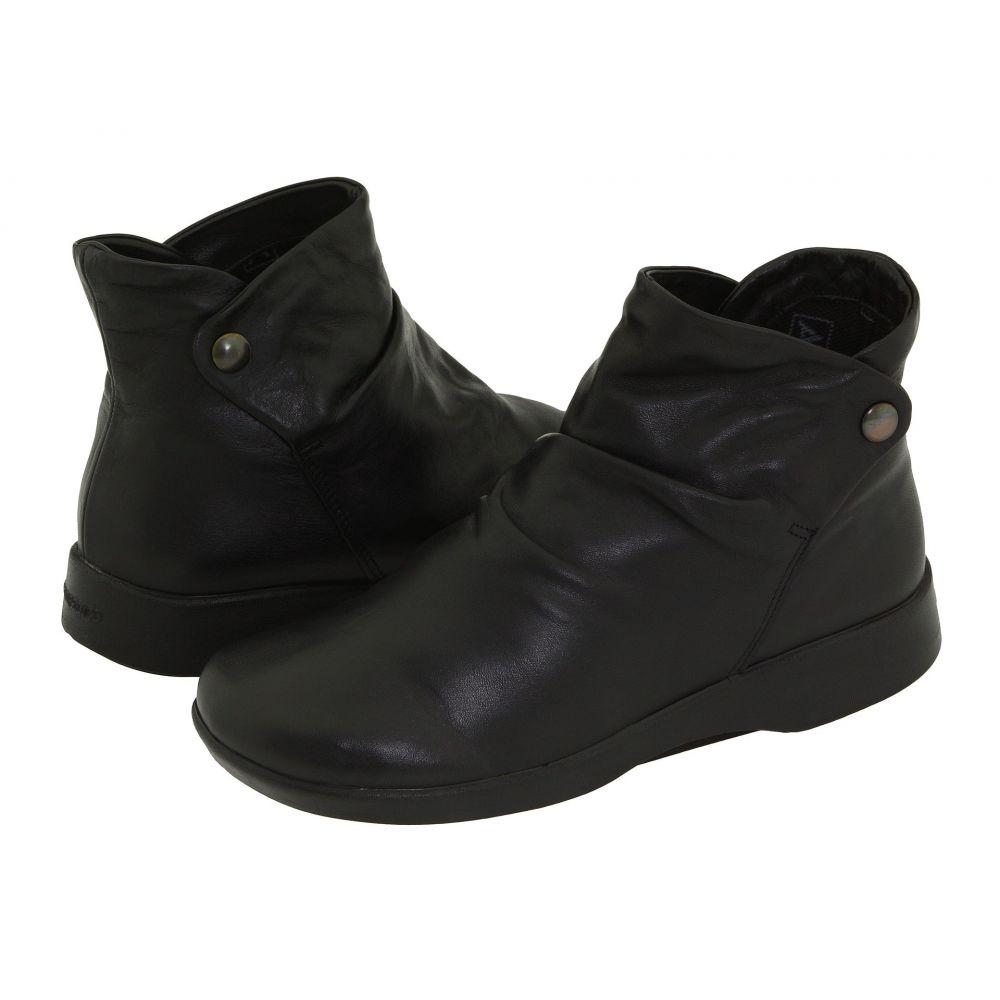 アルコペディコ Arcopedico レディース ブーツ シューズ・靴【N42】Black Leather
