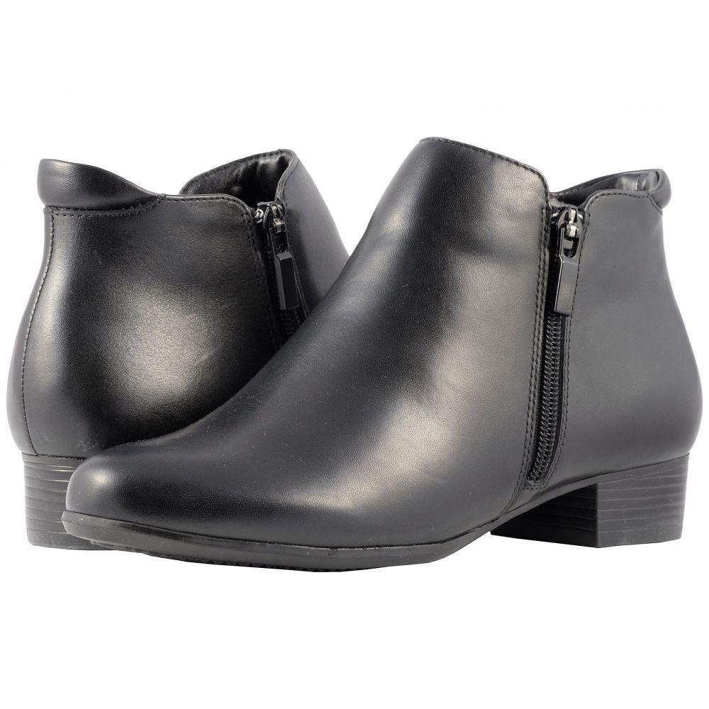 トロッターズ Trotters レディース ブーツ シューズ・靴【Major】Black Smooth Leather