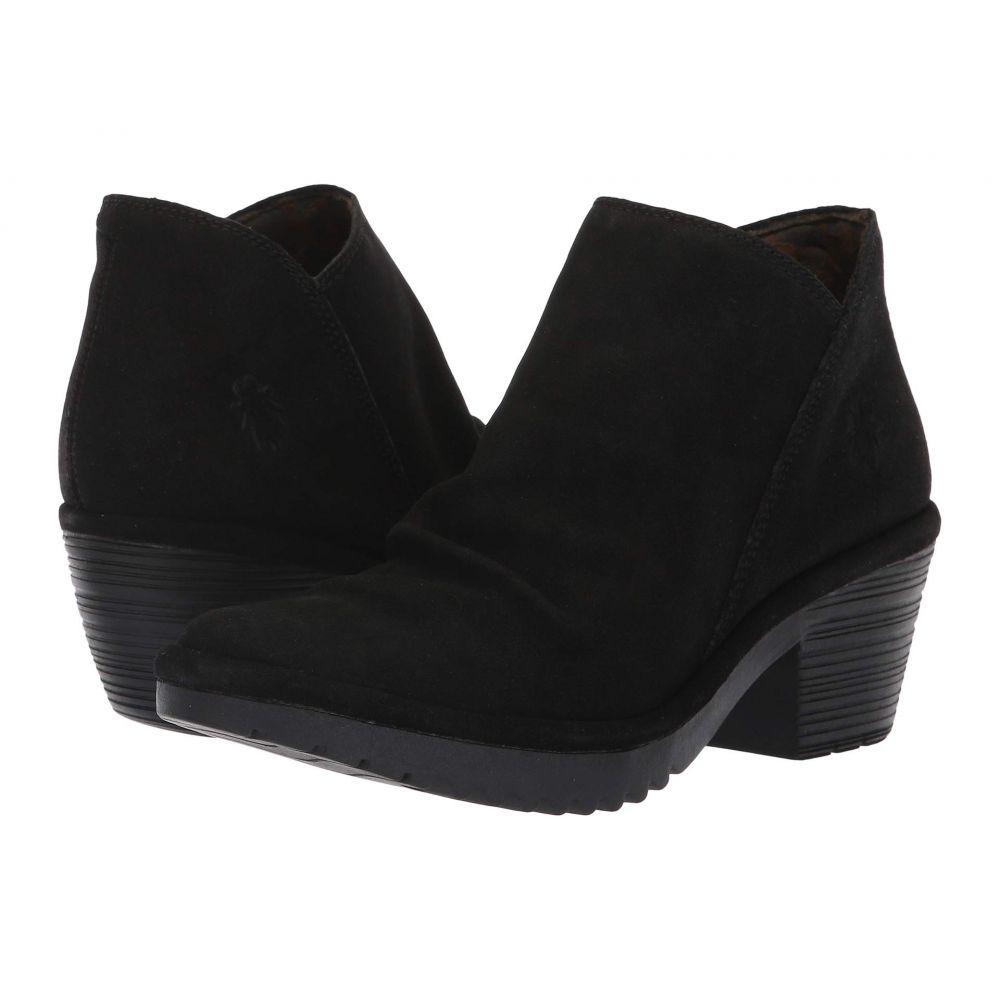 フライロンドン FLY LONDON レディース ブーツ シューズ・靴【WEZO890FLY】Black Oil Suede