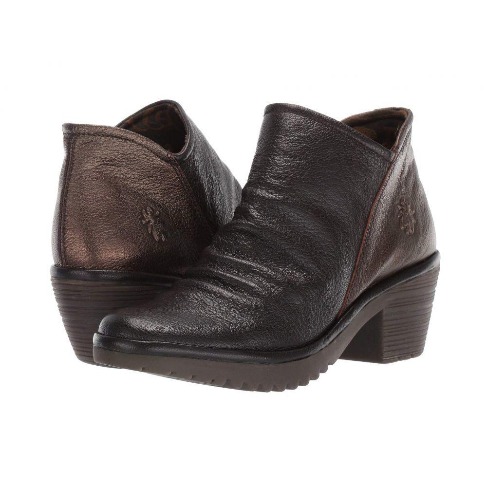 フライロンドン FLY LONDON レディース ブーツ シューズ・靴【WEZO890FLY】Chocolate/Coffee Mousse/Idra