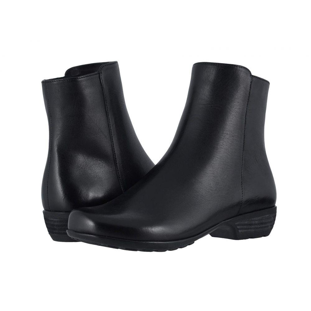 ウォーキング クレードル Walking Cradles レディース ブーツ シューズ・靴【Elsie】Black Leather