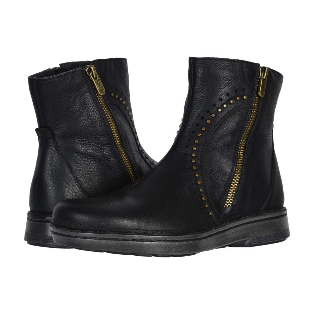 ナオト Naot レディース ブーツ シューズ・靴【Cetona】Soft Black Leather