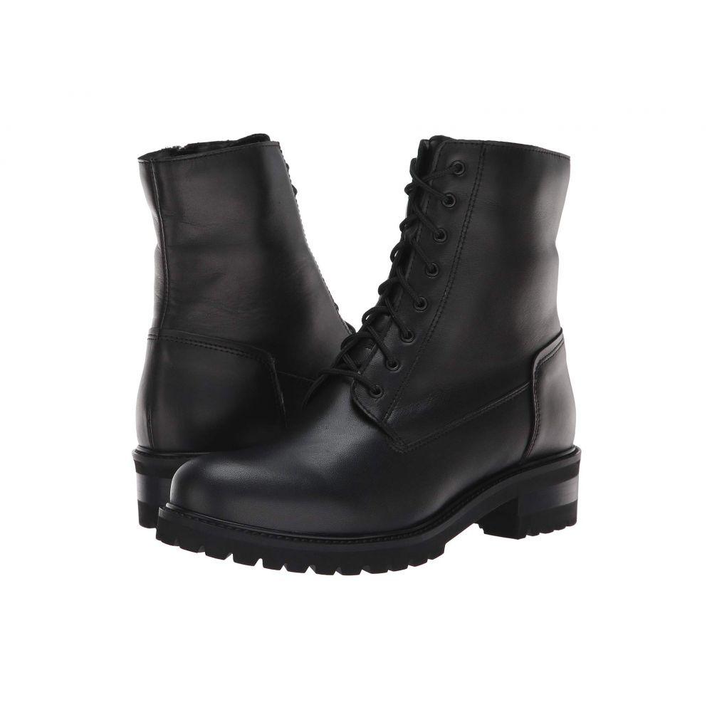 ラ カナディアン La Canadienne レディース ブーツ シューズ・靴【Caterina】Black Leather