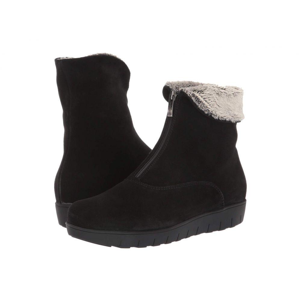 ラ カナディアン La Canadienne レディース ブーツ シューズ・靴【Tess】Black Suede
