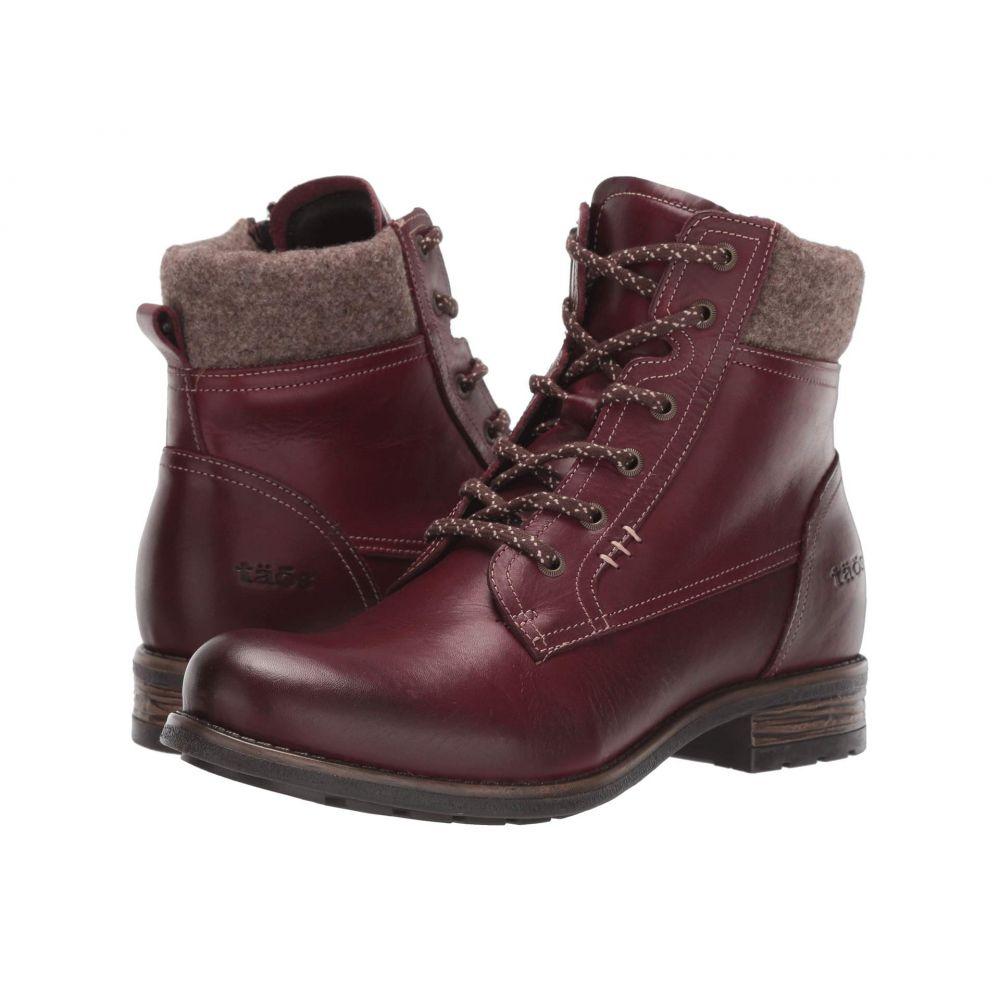 タオス Taos Footwear レディース ブーツ シューズ・靴【Cutie】Deep Red