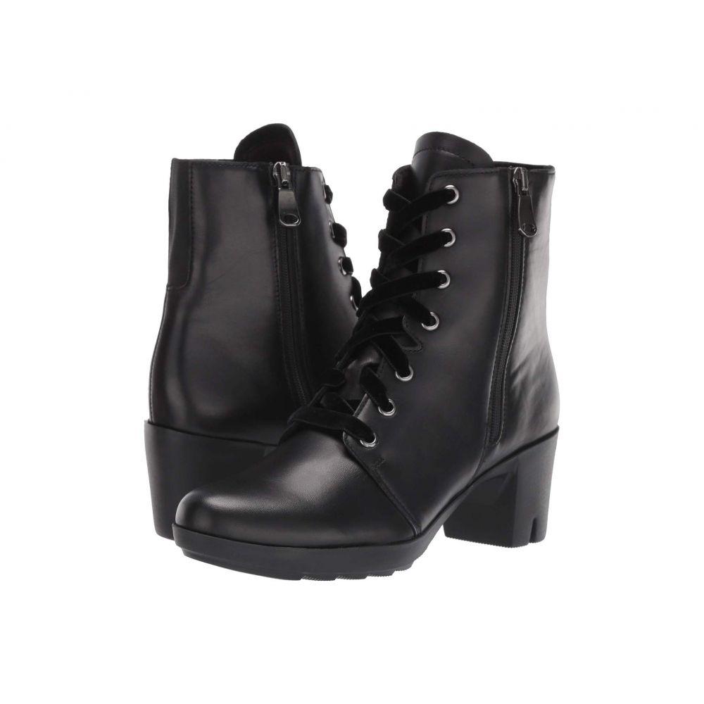 マンロー Munro レディース ブーツ シューズ・靴【Brittie】Black Leather